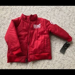 NWT Ecko Unlimited Red Jacket Sz 18 mo